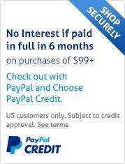 PayPal Credit Financing
