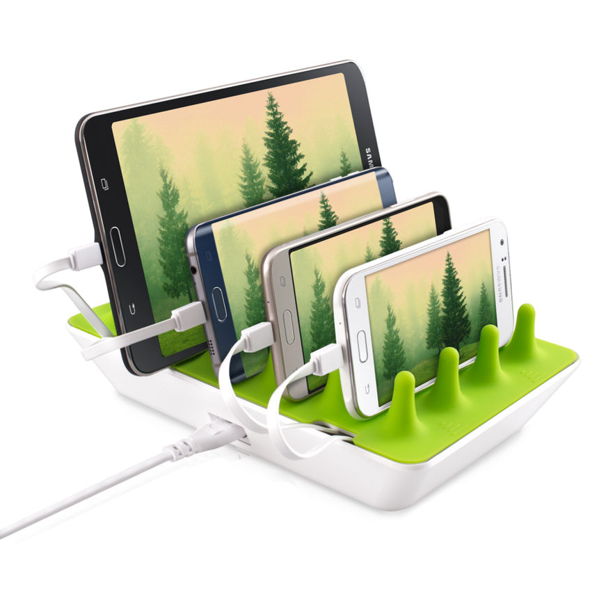 Gelid Zentree Flexible Charging Solution, Green/White