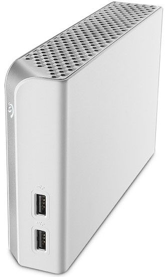 Seagate 4TB Backup Plus Hub for Mac, White