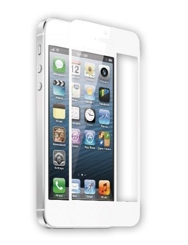 TEKNMOTION Glass Shield for iPhone 5/5C/5S, White