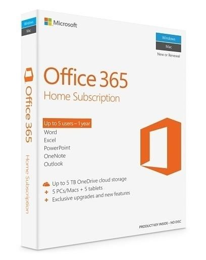 Microsoft Office 365 Home (5-User)