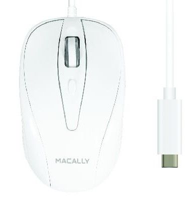 Macally Optical USB-C Wired Mouse