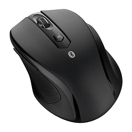 JETech Bluetooth Wireless Mouse, Black