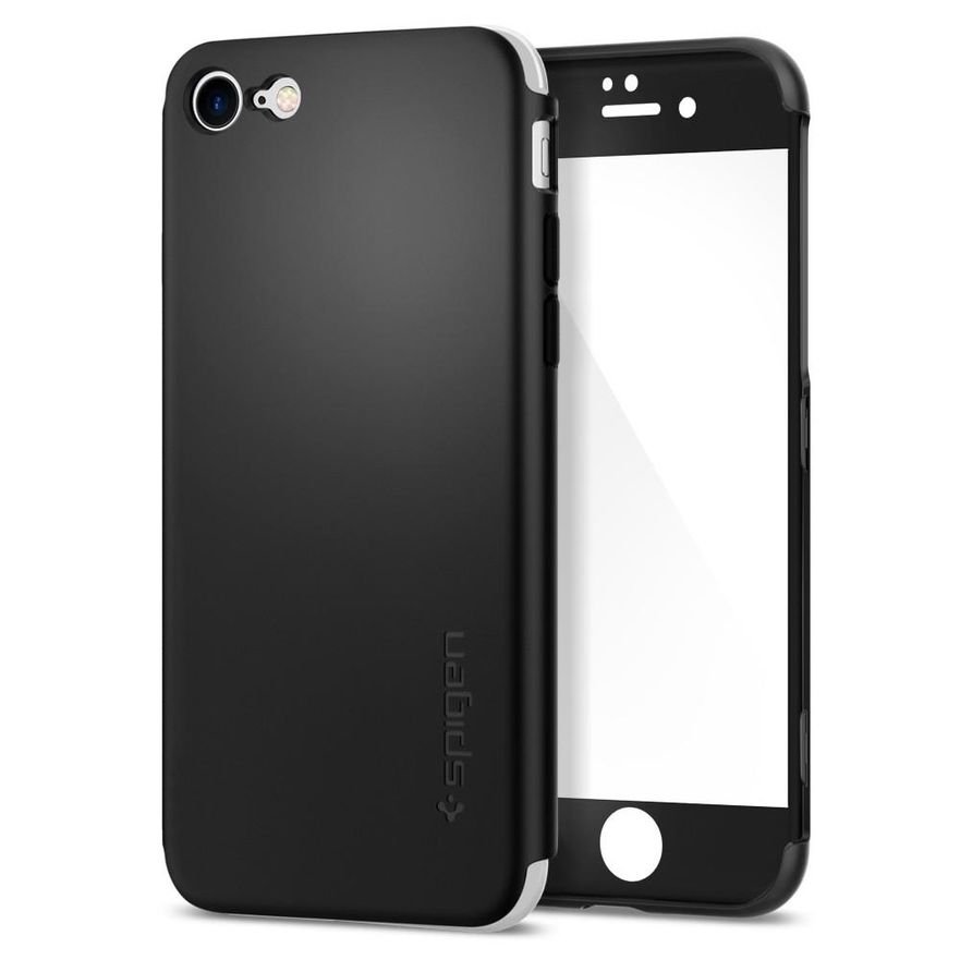 iPhone 7, Air Fit 360 Case, Black