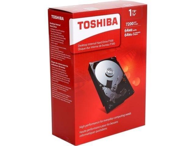 "Toshiba 3.5"" Desktop Internal Hard Drive, 1TB"
