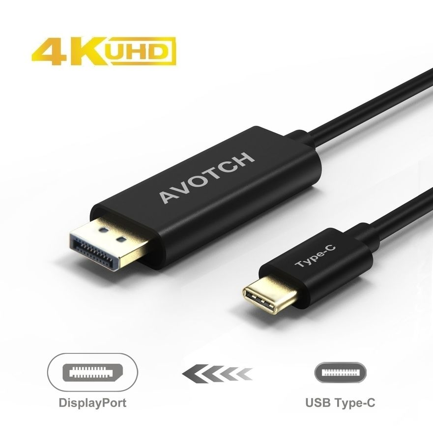 LA Computer Company USB-C to DisplayPort Cable