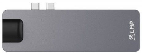 LMP USB-C 4K 8-Port Compact Dock, Space Gray