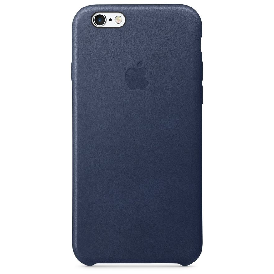 Apple iPhone 6/6s Leather Case, Blue