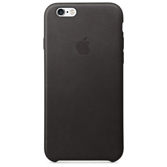 Apple iPhone 6/6s Leather Case, Black