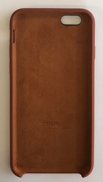 Apple iPhone 6/6s Silicone Case, Brown