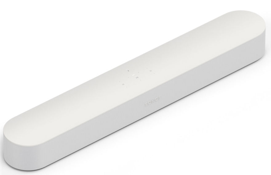 Sonos BEAM TV Sound Bar, White