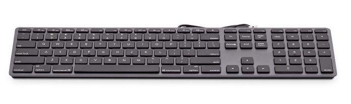 LMP USB Numeric Keyboard, Space Gray