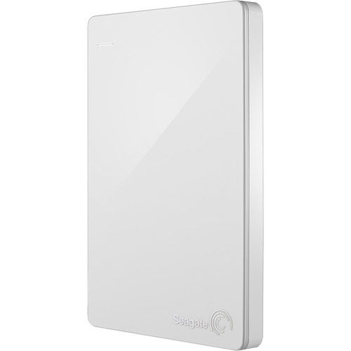 Seagate Backup Plus 2TB External Hard Drive, White