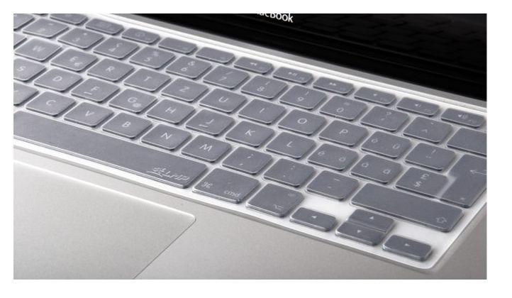 LMP KeySkin 100 Ultra-Thin Silicone Key Skin, clear