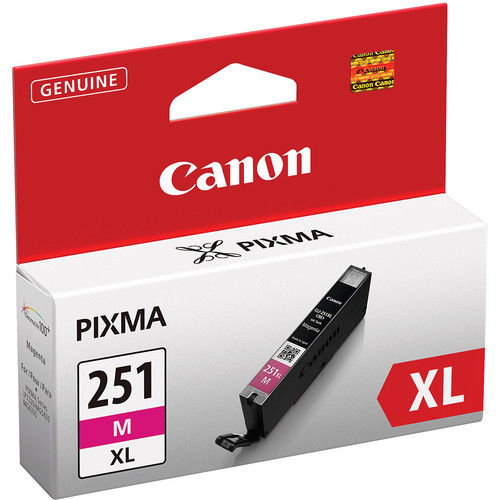 CLI-251XL Magenta Ink Catridge for PixmaIP7220, MG5420, MG6320, MX722, MX922