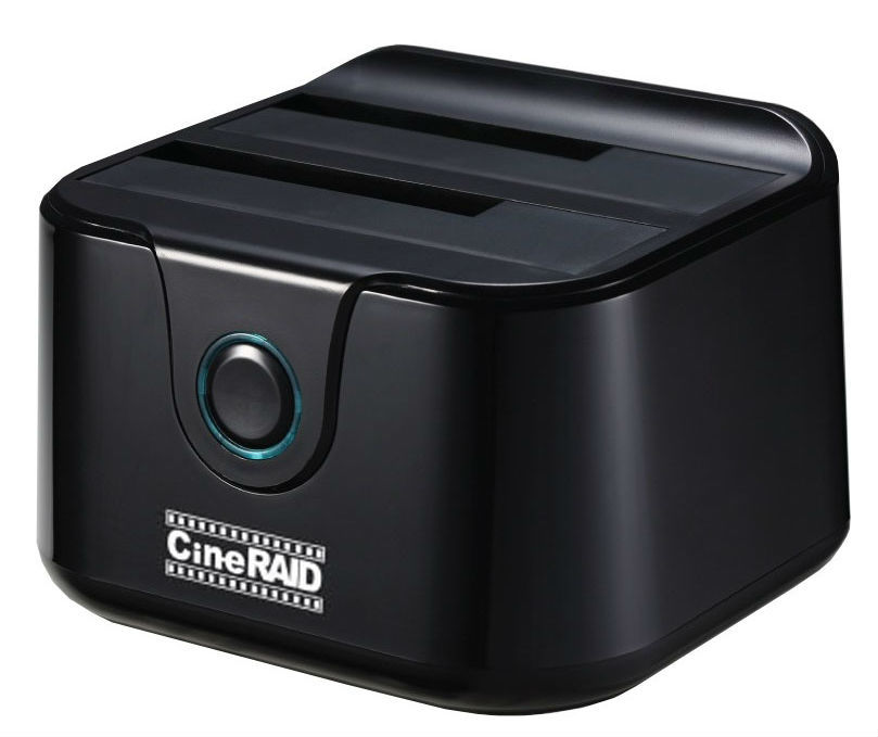 CineRAID Home Stand-Alone Drive Duplicator