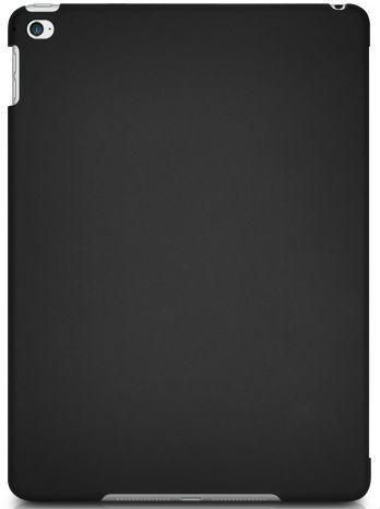 Macally Hardshell Case for iPad Air 2 (Black/Clear)
