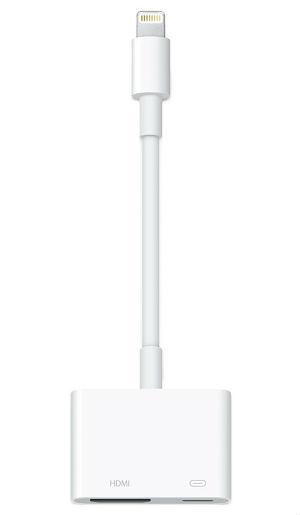 Apple Lightning to Digital AV Adapter