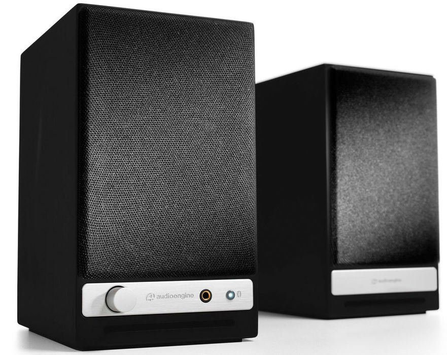 Audioengine HD3 Wireless Speakes - Black - Bluetooth  Desktop Speaker System
