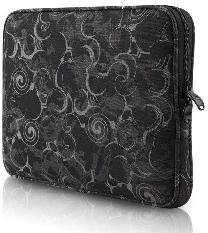 Be.ez LA Robe Volute Laptop Sleeve, Black