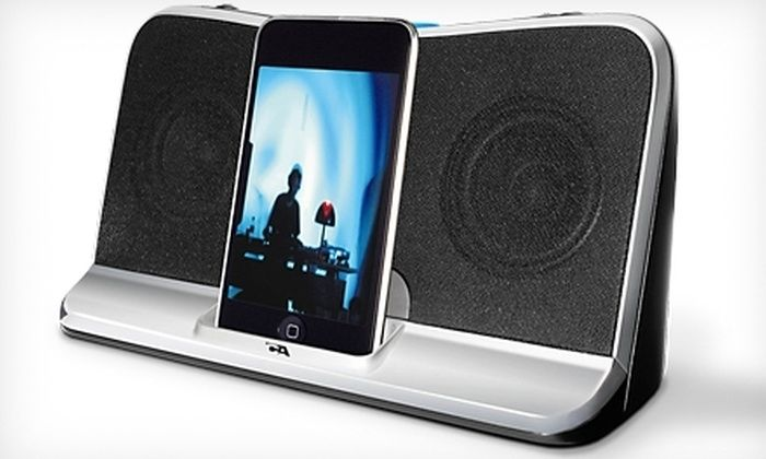 Cyber Acoustics Portable Digital Docking Speakers