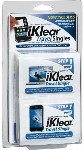 iKlear Travel Singles 20 Pkg. and 2 Travel SizeMicro Chamois