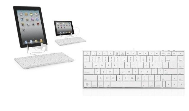 Macally Wired Keyboard for iPad, iPhone and iPod Touch