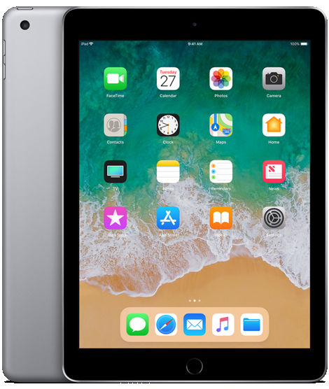 Apple iPad (Space Gray) Wi-Fi + Cellular 4G - 128GB