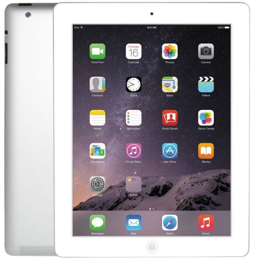 Refurbished Apple iPad 4 32GB Wi-Fi only (Silver/White)