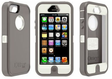 Defender Series Case for iPhone 5, Glacier