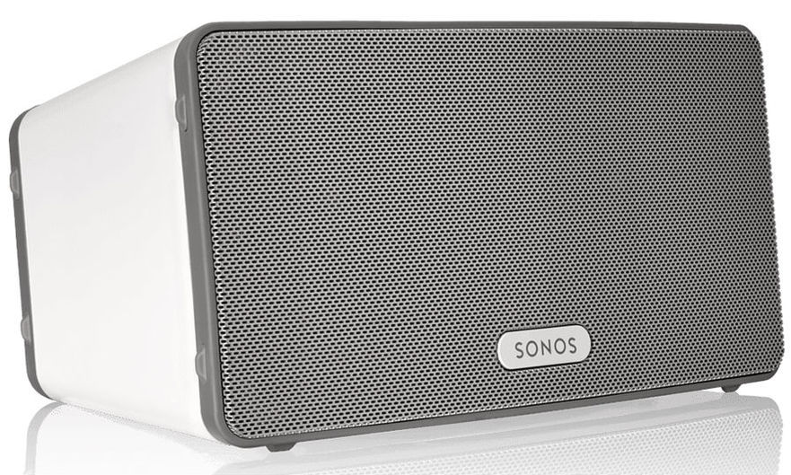 Sonos PLAY:3 Mid-Size Wireless Speaker (White)