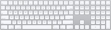 Apple Magic Keyboard with Numeric Keypad, Silver