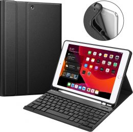 "Keyboard Case for iPad 10.2"" (7th Gen) 2019, Black"