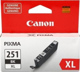 Canon CLI-251XL Ink Cartridge, Black - 6448B001