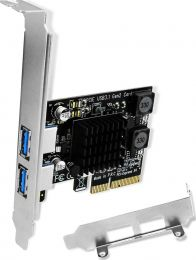 USB 3.0 2-Port PCIe 2.0 Host Card for Mac Pro / Windows