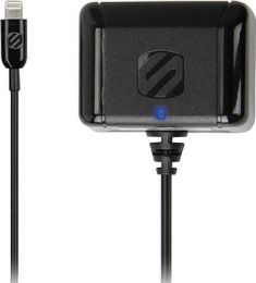 Scosche StrikeBASE Wall Charger for Lightning Devices, Black