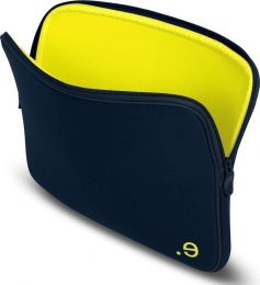 LA Robe Laptop Sleeve, Marine/Yellow