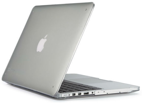 "SeeThru Hard Shell Laptop Case for MacBook Pro 13"" Retina, Clear"